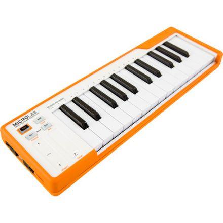 ARTURIA 230513 MICROLAB USB MIDI CONTROLLER (ORANGE)