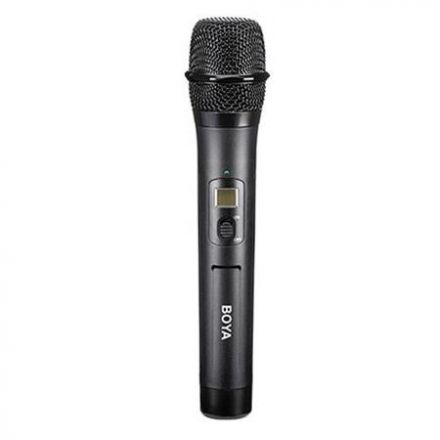 BOYA BY-WHM8 PRO 48-CHANNEL UHF WIRELESS DYNAMIC HANDHELD CARDIOID MICROPHONE FOR BY-WM8 PRO SYSTEM""