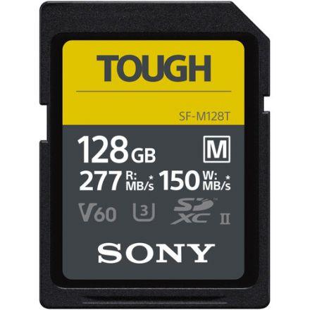 SONY SF-M128T/T1 128GB M-SERIES TOUGH UHS-II SDXC MEMORY CARD 277/150 MB/S