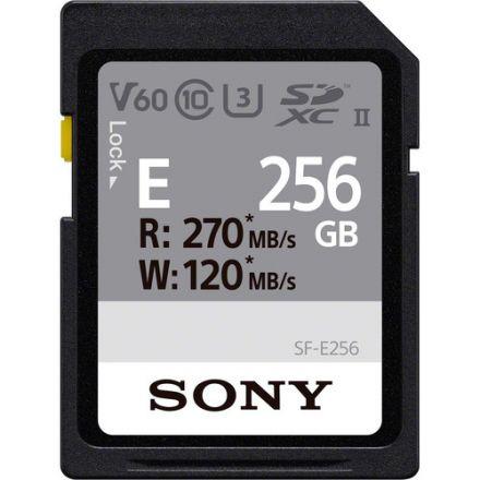 SONY SF-E256/T1 256GB E SERIES UHS-II SDXC MEMORY CARD 270/120 MB/S