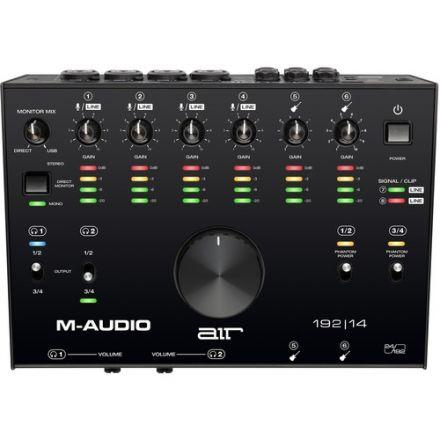 M-AUDIO AIR192X14XEU 8 IN 4 OUT AUDIO/MIDI INTERFACE