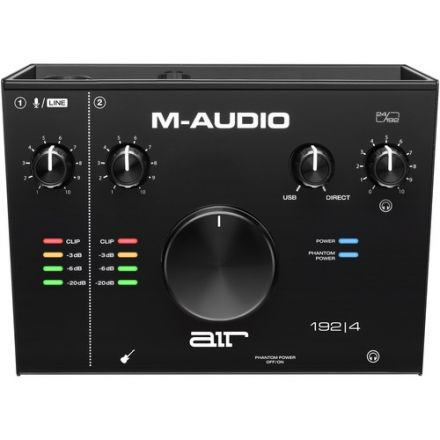 M-AUDIO AIR192X4 2 IN 2 OUT USB AUDIO IO + MIC INPUT