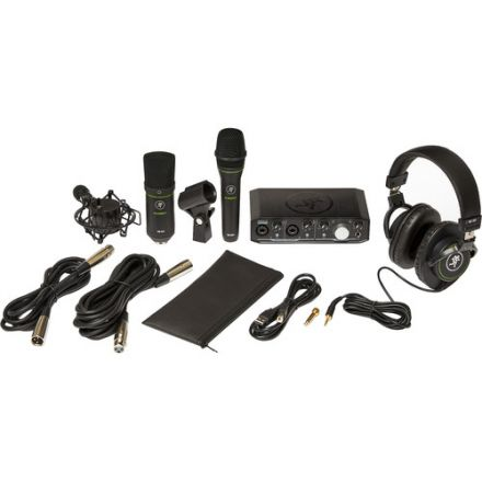 MACKIE PRODUCER BUNDLE USB AUDIO/MIDI INTERFACE, CONDENSER MIC, DYNAMIC MIC AND HEADPHONES