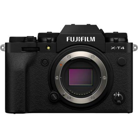 FUJIFILM X-T4 MIRRORLESS DIGITAL CAMERA BODY ONLY (BLACK)