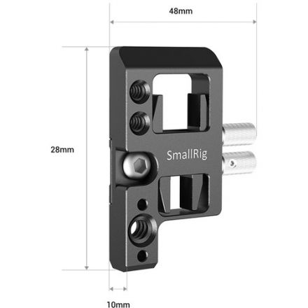 SMALLRIG APS2672 LEFT SIDE PLATE WITH CABLE LOCK FOR SIGMA FP CAMERA