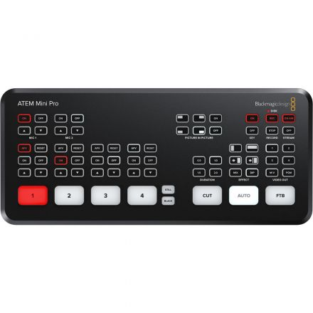 BLACKMAGIC DESIGN ATEM MINI PRO HDMI LIVE STREAMING SWITCHER