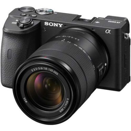 SONY A6600 MIRRORLESS CAMERA W/ 18-135MM LENS