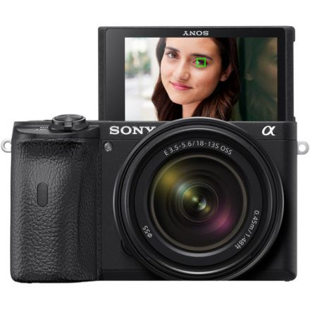 SONY ILCE-6600M A6600 MIRRORLESS DIGITAL CAMERA WITH 18-135MM LENS
