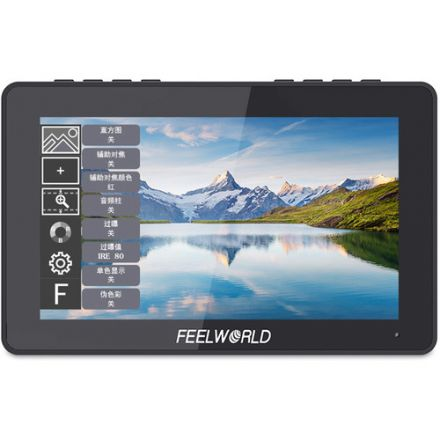 "FEELWORLD F5 PRO 5.5"" 4K HDMI IPS TOUCHSCREEN ON-CAM MONITOR"