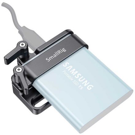 SMALLRIG 2245B MOUNT FOR SAMSUNG T5 SSD
