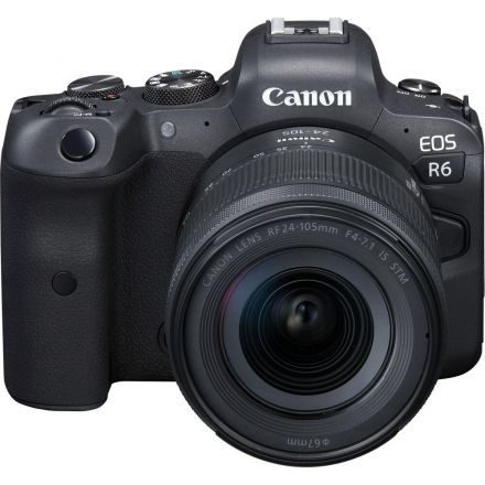 CANON EOS R6 MIRRORLESS CAMERA W/ 24-105MM F/4-7.1 LENS