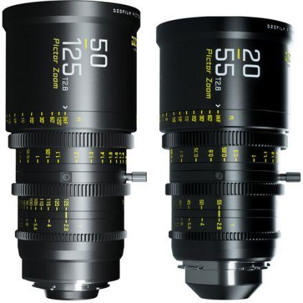DZO PICTOR ZOOM BLACK BUNDLE 50-125/20-55 T2.8