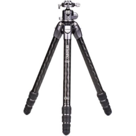 BENRO TTOR34CGX35 TORTOISE COLUMNLESS CARBON FIBER THREE SERIES TRIPOD WITH GX35 BALL HEAD