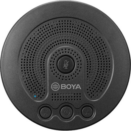 BOYA BY-BMM400 BATTERY-POWERED CONFERENCE MICROPHONE/SPEAKER FOR SMARTPHONES AND LAPTOPS