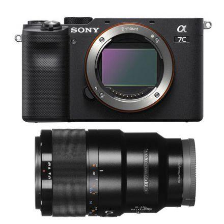 SONY ILCE-7C AF1 ALPHA A7C MIRRORLESS DIGITAL CAMERA / BLACK+L90M28G GIFT BUNDLE