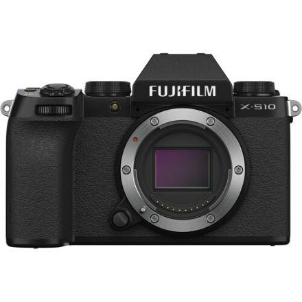 FUJIFILM X-S10 MIRRORLESS DIGITAL CAMERA BODY ONLY (BLACK)