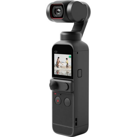 DJI POCKET 2 (LH) WITH DJI OSMO POCKET EXTENSION ROD AND SANDISK SDHC 32GB MEMORY CARD BUNDLE OFFER