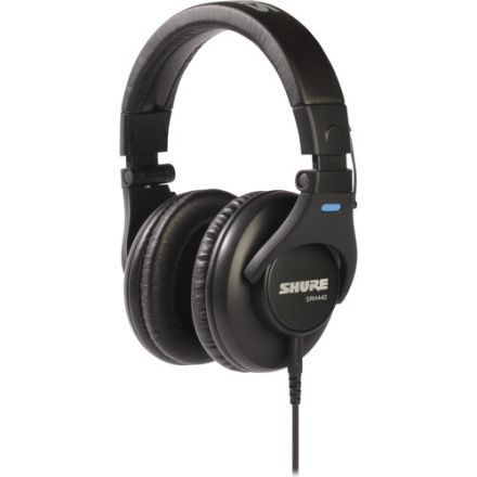 SHURE SRH440-BK CLOSED-BACK OVER-EAR HEADPHONE