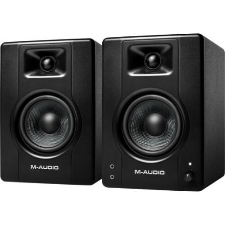 """M-AUDIO BX4PAIRXEU 4.5"""" 120W POWERED STUDIO MONITOR (PAIR)"""