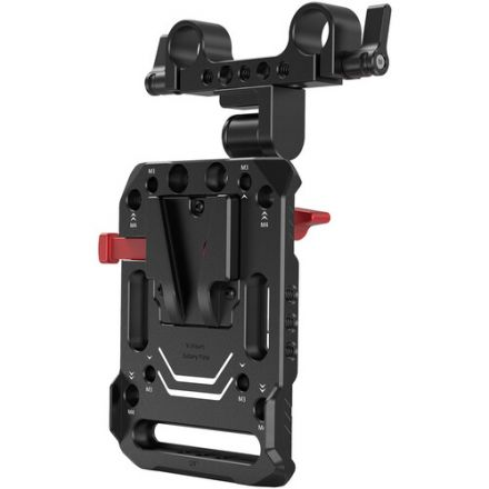 SMALLRIG 2991 V-MOUNT BATTERY PLATE WITH ADJUSTABLE ARM