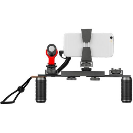SARAMONIC VGM SMARTPHONE VIDEO KIT WITH STABILIZING RIG AND MICROPHONE