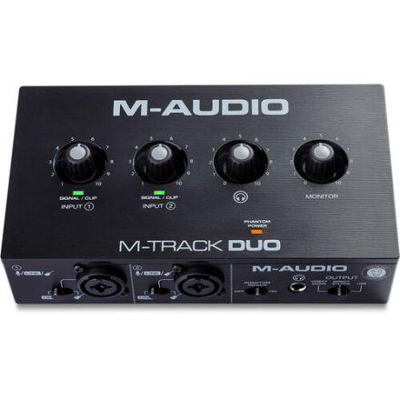 M-AUDIO M-TRACK DUO DESKTOP 2X2 USB AUDIO INTERFACE
