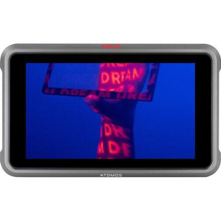 """ATOMOS ATOMNJVPL1 NINJA V+ 5"""" 8K HDMI H.265 RAW RECORDING MONITOR"""