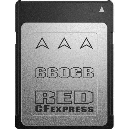 RED 750-0098 DIGITAL CINEMA PRO 660GB CFEXPRESS 2.0 TYPE-B CARD