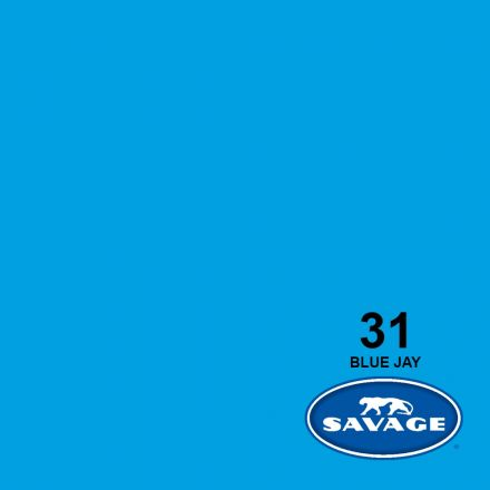 SAVAGE 31-12 WIDETONE SEAMLESS BACKGROUND PAPER BLUE JAY (A1 2.72M X 11M)