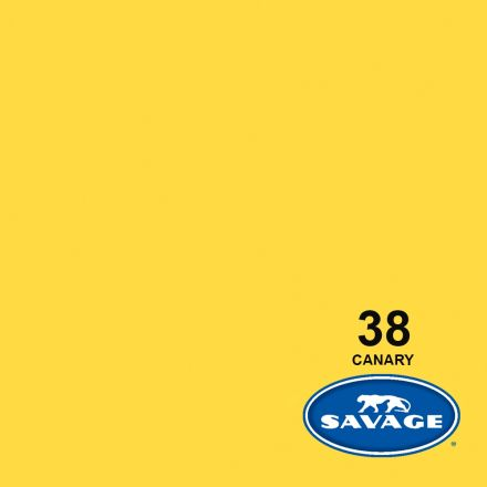 SAVAGE 38-12 WIDETONE SEAMLESS BACKGROUND PAPER CANARY (A1 2.72M X 11M)