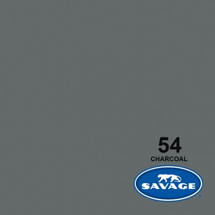 SAVAGE 54-12 WIDETONE SEAMLESS BACKGROUND PAPER CHARCOAL (A1 2.72M X 11M)