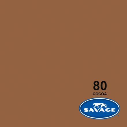 SAVAGE 80-1253 WIDETONE SEAMLESS BACKGROUND PAPER COCOA (A2 1.35M X 11M) ?????