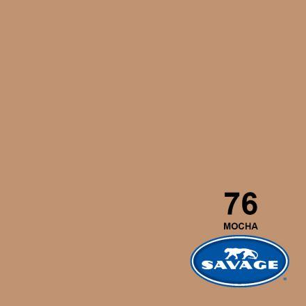 SAVAGE 76-1253 WIDETONE SEAMLESS BACKGROUND PAPER MOCHA (A2 1.35M X 11M)