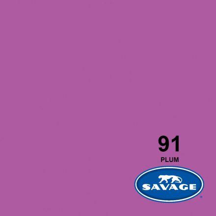 SAVAGE 91-12 WIDETONE SEAMLESS BACKGROUND PAPER PLUM (A1 2.72M X 11M)
