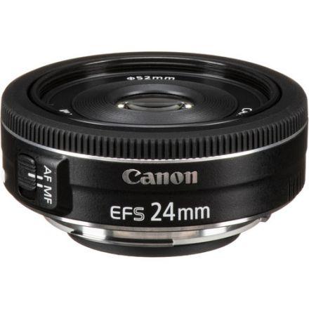CANON LENS EF-S 24MM F2.8 STM