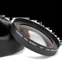 CONVEX 0.6X WIDE ANGLE HD ADAPTOR 82MM CV-A0.6X82