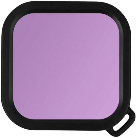 SUNNYLIFE IST-F19273-P DIVING FILTER FOR INSTA360 4K AND 1-INCH CAMERA (PURPLE)