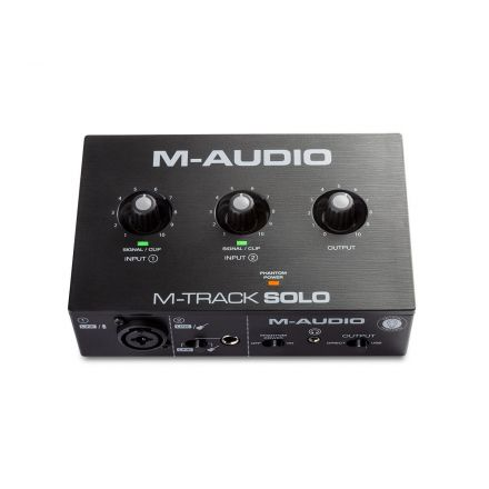 M-AUDIO MTRACKSOLOII 2-CHANNEL USB AUDIO INTERFACE