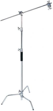 PHOTTIX PRO BOOM STAND STAINLESS STEEL H/380CM