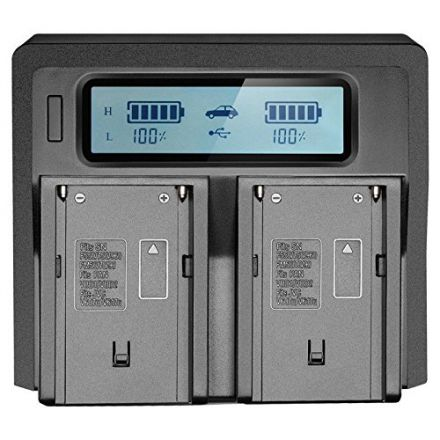 PROMAGE DUAL DIGITAL BATTERY CHARGER PM115 FOR F960/F970