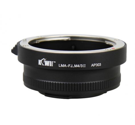JJC LENS MOUNT ADAPTERS FOR FUJINON-X LENS TO MICRO 4/3 II CAMERA