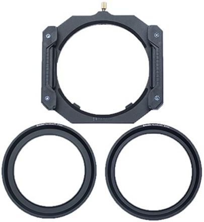 BENRO FG100 UNIVERSAL FILTER HOLDER + 82MM & 77MM LENS RING
