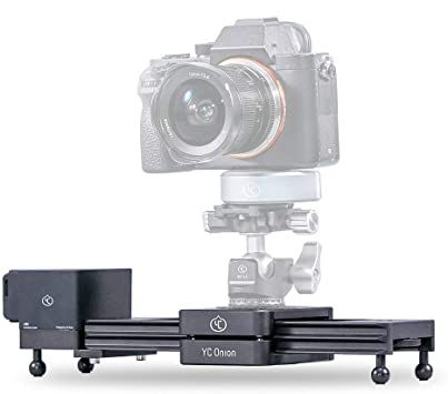 "YC ONION 30CM/12"" CHOCOLATE MOTORIZED CAMERA SLIDER"