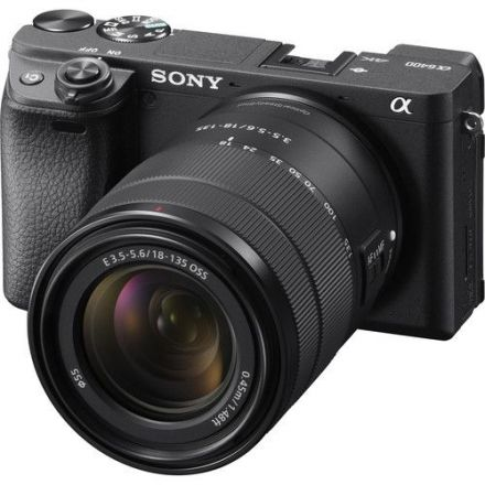 SONY A6400 WITH 18-135MM LENS + SMALLRIG BUC2317 + BOYA BY-MM1 MINI + MANFROTTO 2 SECTION MINI TRIPOD BUNDLE OFFER
