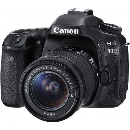 CANON EOS 80D W/ 18-55 IS STM LENS