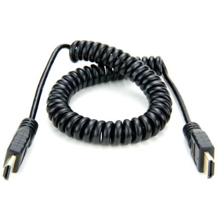 ATOMOS ATOMCAB011 COILED FULL HDMI TO FULL HDMI CABLE 50CM