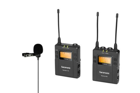 SARAMONIC UWMIC9 KIT1 TX9+RX9 UHF WIRELESS LAVALIER MICROPHONE MIC SYSTEM