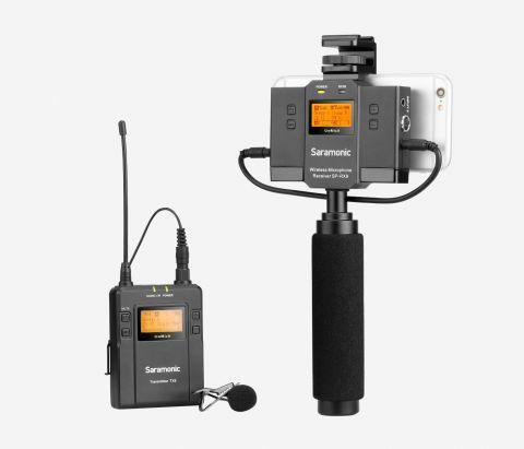 SARAMONIC UWMIC9 KIT12 UHF WIRELESS MICROPHONE SYSTEM (TX9+UWMIC9 SPRX9)