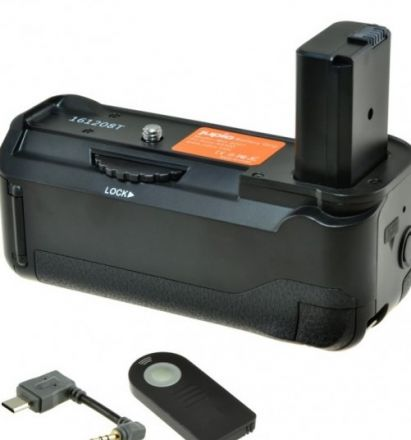JUPIO BATTERY GRIP FOR SONY A6300/A6500+CABLE