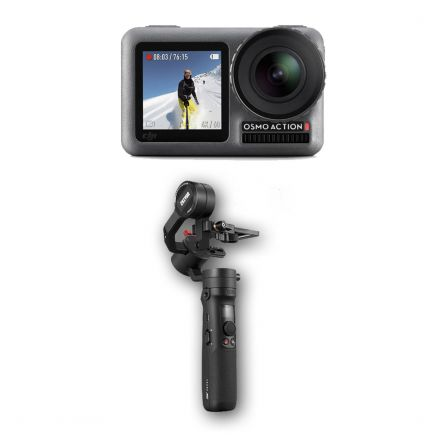 DJI OSMO ACTION + ZHIYUN CRANE M2 BUNDLE OFFER